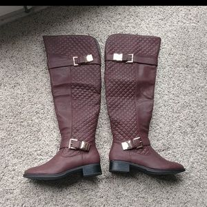 NEW just fab Over the knee boots size 6.5
